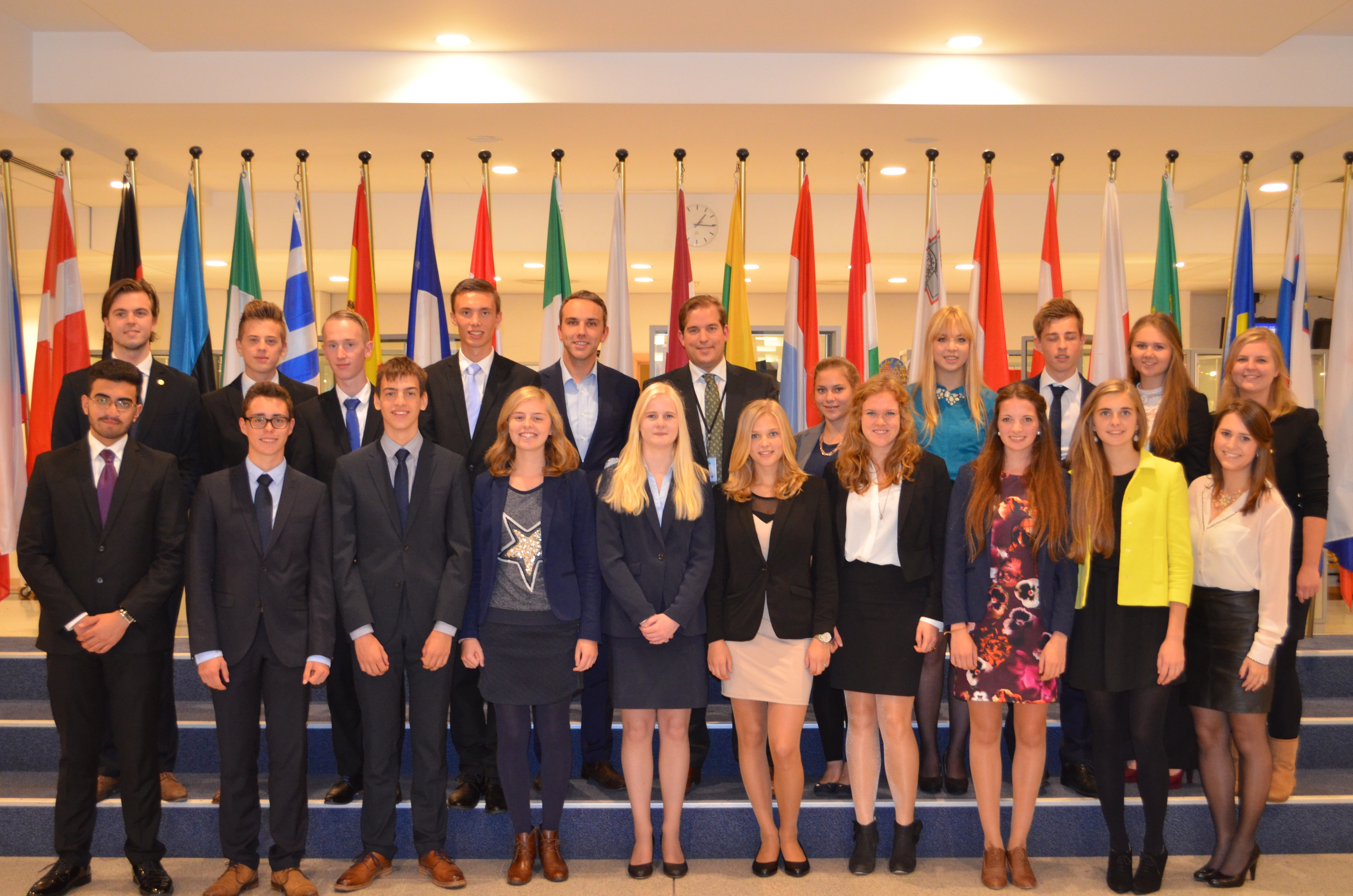 Geslaagd bezoek aan Europees Parlement Brussel