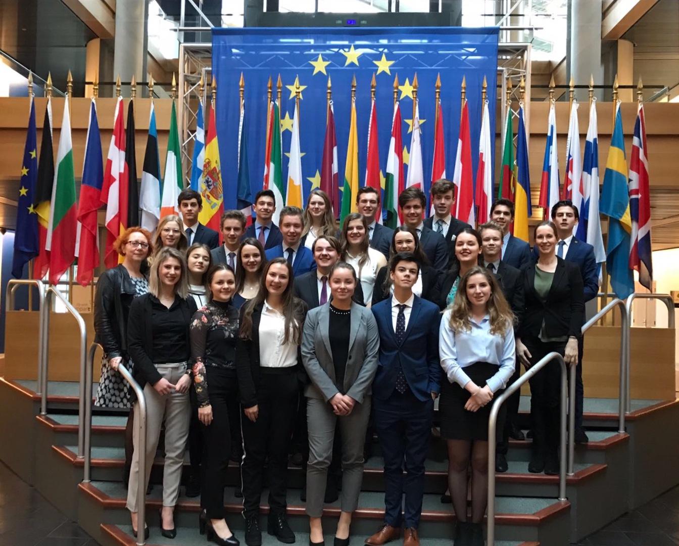Straatsburgreis 2018 Dag 4: Goed vertegenwoordigd