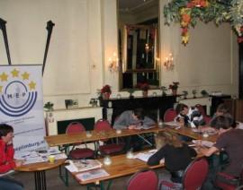 Voorbereiding Model European Press: Workshop Creatief schrijven