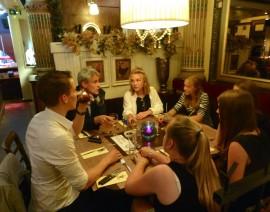 Een zeer geslaagde Dine & Discuss voor MEP Limburg Alumni