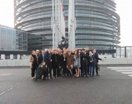 Straatsburgreis 2017 Dag 5: het Europees Parlement!