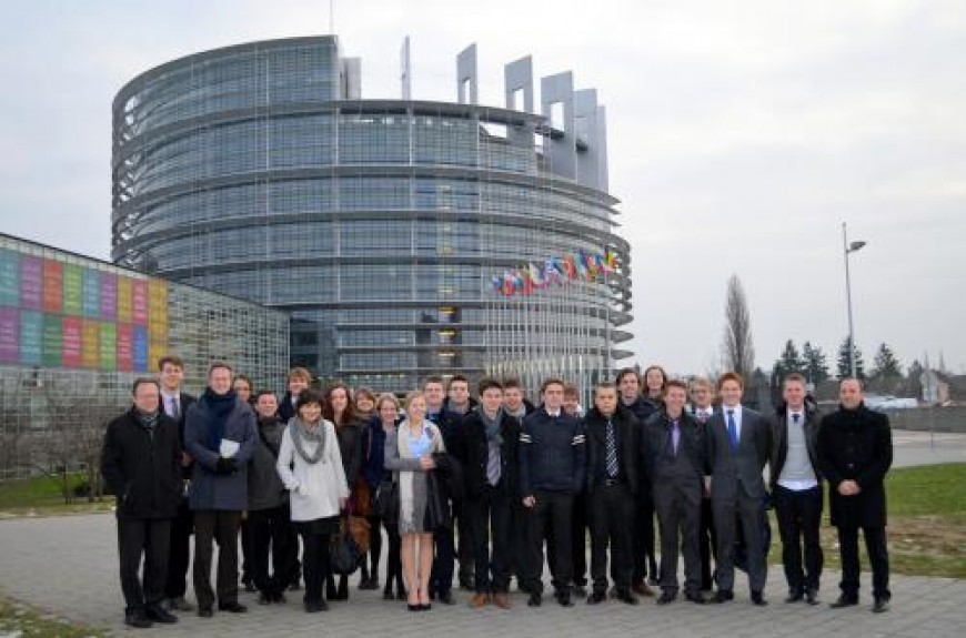 Straatsburgreis: Dag 4 – Het Europees Parlement