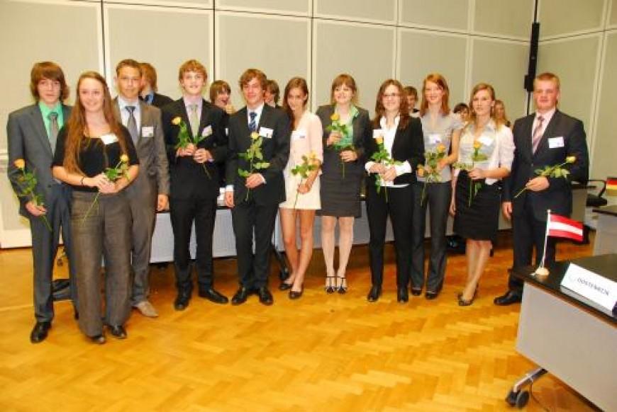 De Limburgse delegatie voor de Nationale MEP Conferentie 2010