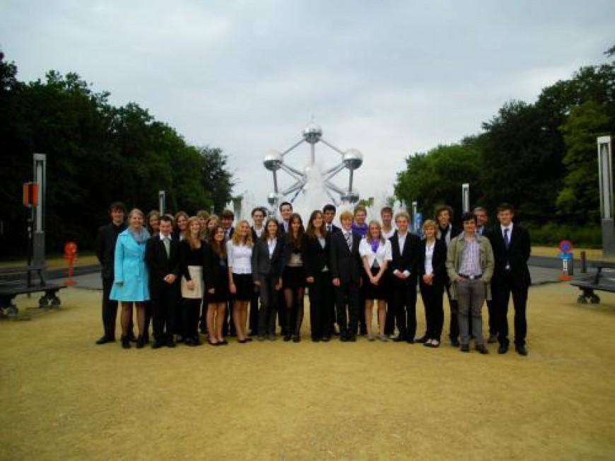 Verslag bezoek aan Europees Parlement te Brussel op 31 mei 2011