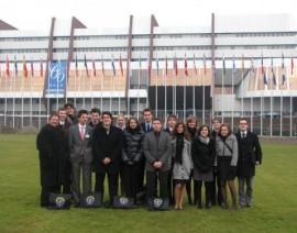 Foto's bezoek Raad van Europa te Straatsburg online!
