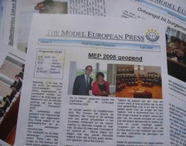 Word jij de nieuwe journalist van de Model European Press?