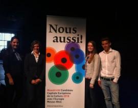 Afgevaardigden Nationale MEP Conferentie 2013 aanwezig bij project VIA2018 Maastricht
