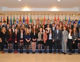 Limburgs Model European Parliament 2013 brengt bezoek aan Brussel
