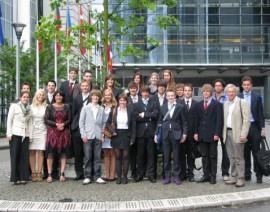 MEP Limburg wederom hartelijk ontvangen in het Europees Parlement in Brussel