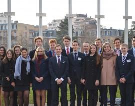 Een unicum voor MEP limburg op de derde dag van de Straatsburgreis