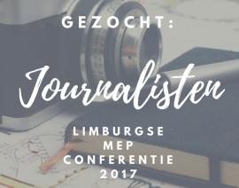 Gezocht: journalistenteam conferentie 2017