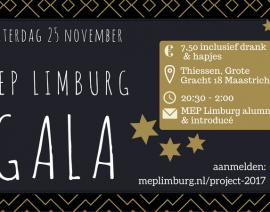 25 november: MEP Limburg Gala
