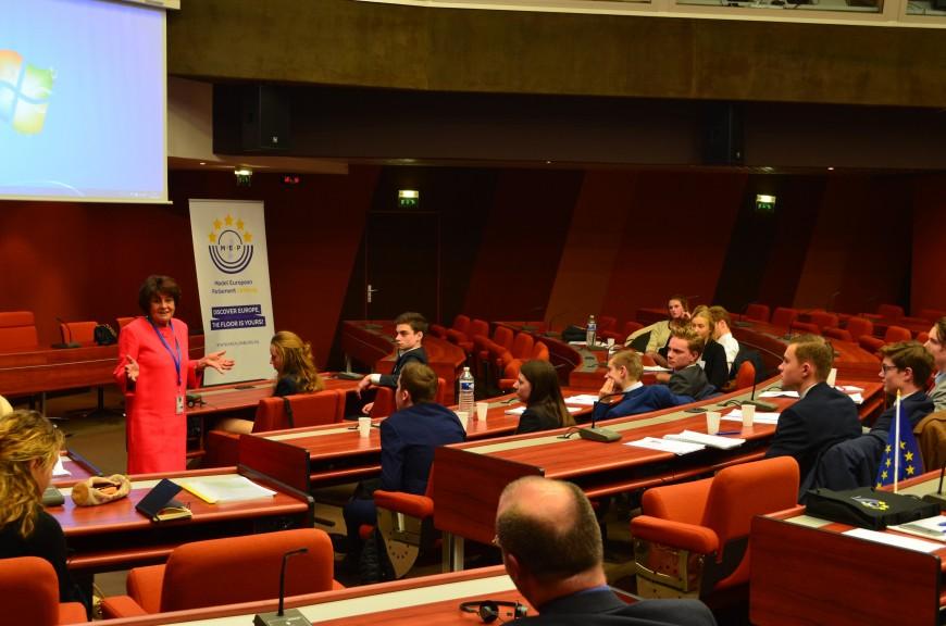 Straatsburgreis 2017 Dag 2: De Raad van Europa