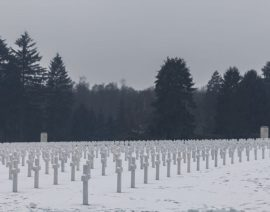 Straatsburgreis 2019 Dag 5: American Cemetery and Memorial & Luxemburg centrum