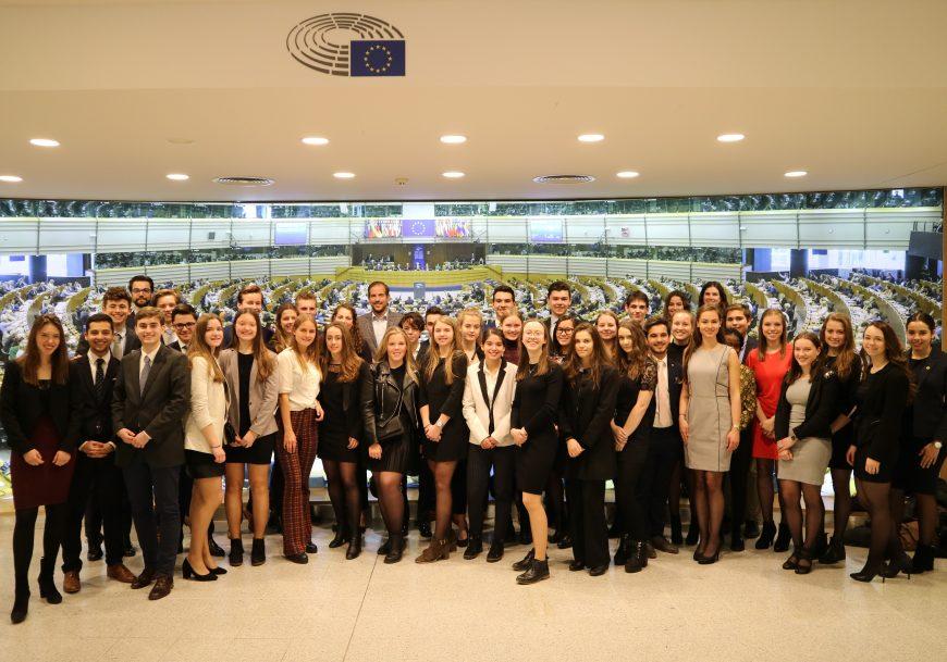 Brusselreis 2019: het Europees Parlement en de Europese Commissie