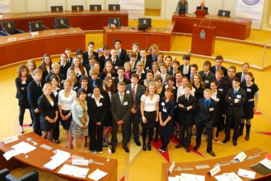 Limburgse MEP Conferentie 2009; Dag 4: De toekomst van de EU in handen van de jonge Limburgse Europarlementariërs