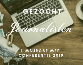 Gezocht: journalistenteam Conferentie 2019
