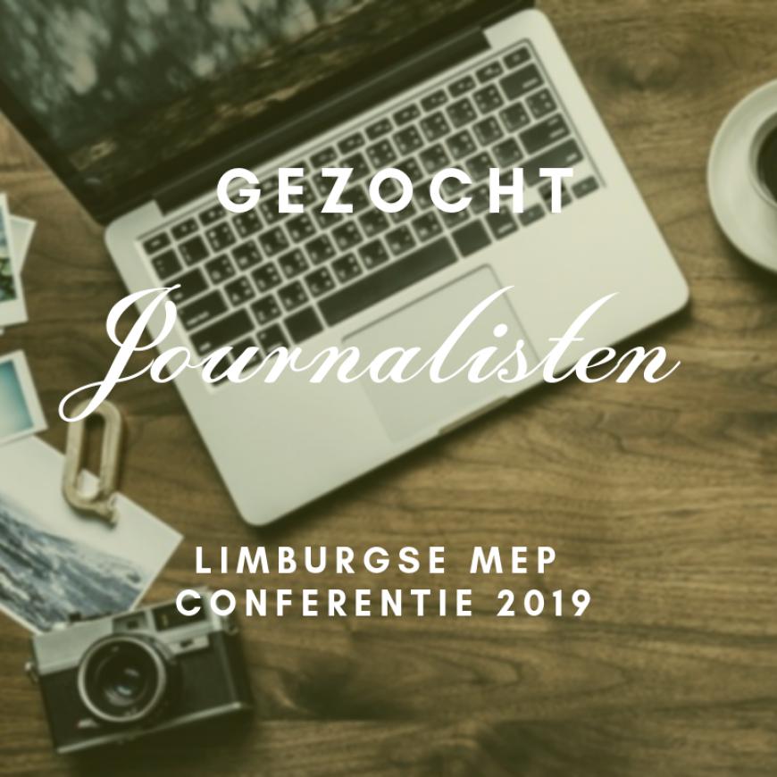 Gezocht: journalistenteam Conferentie 2019