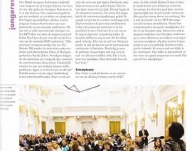 MEP uitgelicht in nieuwsblad Tweede Kamer