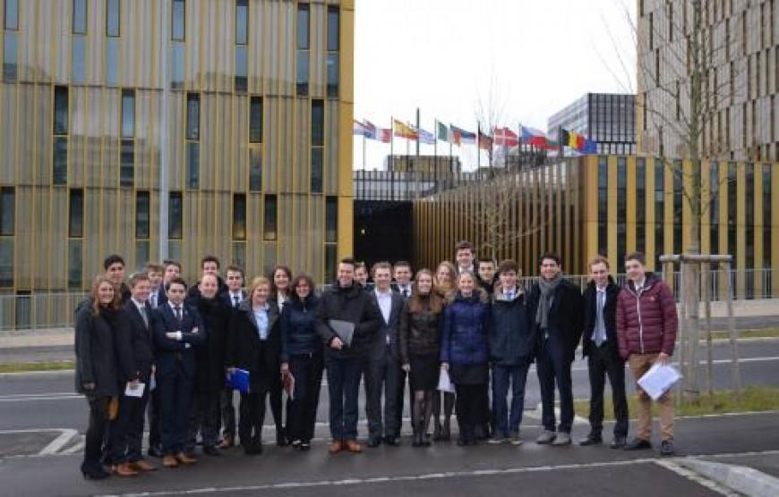 Straatsburgreis: Dag 1 – Een interessant begin van een leerzame week.