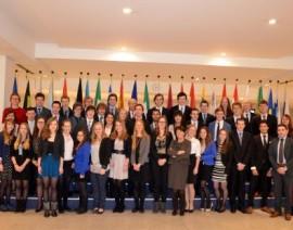 Limburgs Model European Parliament 2012 brengt bezoek aan Brussel