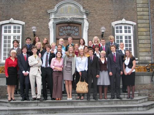 Ontvangst twee commissies Nationale MEP Conferentie 2008 in Kerkrade