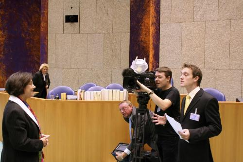 Interview met Voorzitter Tweede Kamer, Gerdi Verbeet