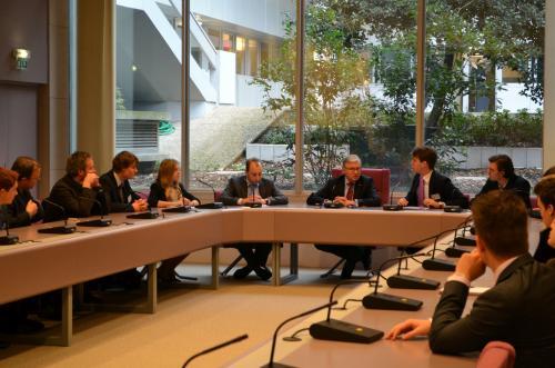 Straatsburgreis: Dag 2 – Palais de L'Europe