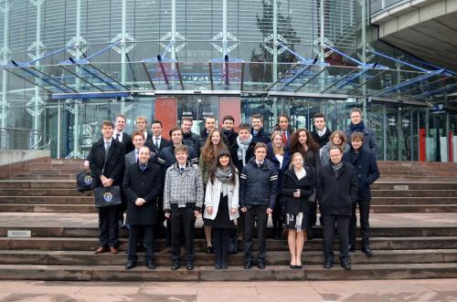 Straatsburgreis: Dag 3 – Het Europees Hof voor de Rechten van de Mens & Palais de L'Europa